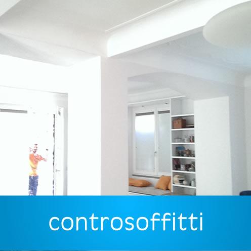 Controsoffitti in Cartongesso Castro Pretorio - Affidati ai professionisti del settore per l'installazione di elementi in cartongesso per la tua casa o il tuo ufficio. Dai controssoffiti, alle pareti dalle librerie ai tavolini