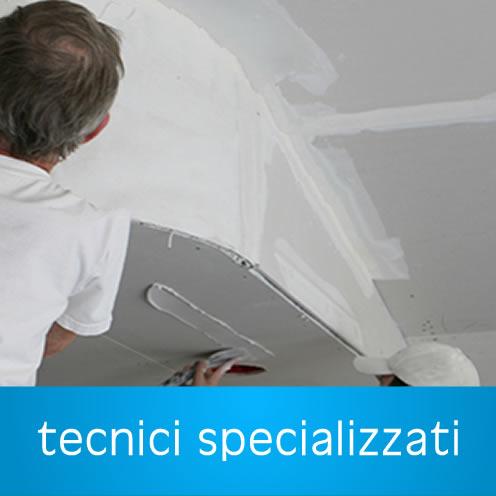 Lavori in Cartongesso Pratica Di Mare - Tecnici specializzati nell'installazione di controsoffitti in Cartongesso